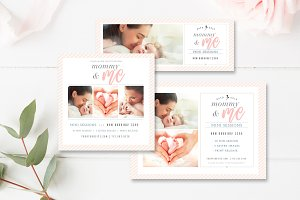 Mommy & Me Mini Session Templates