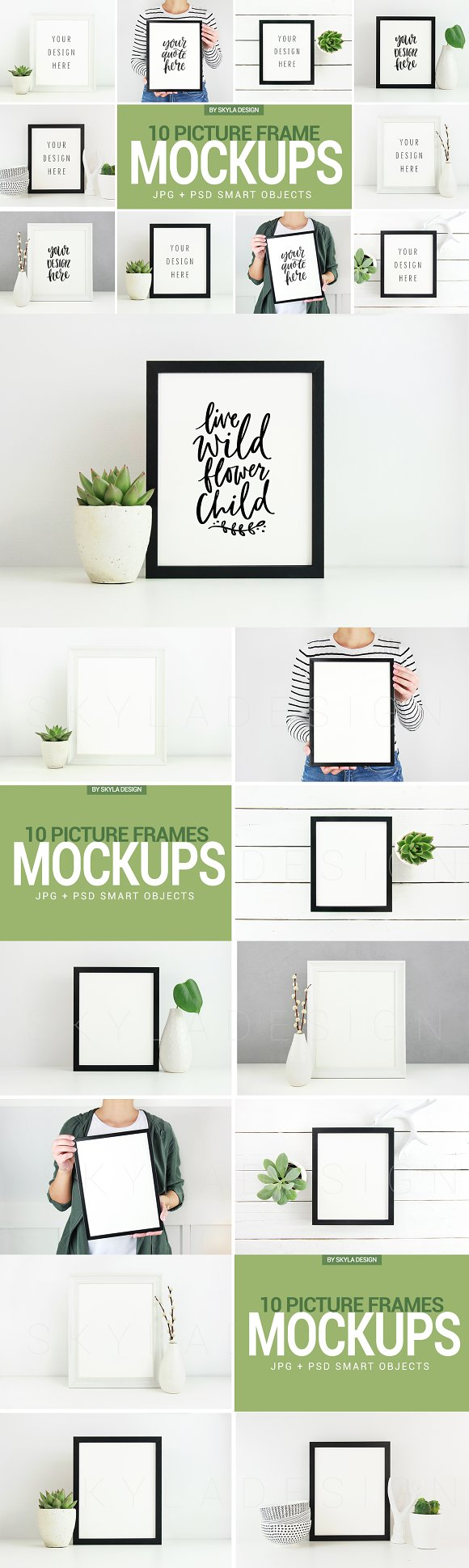 Poster Picture Frame Mockup Photos