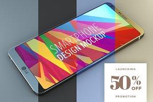 LG G6 SmartPhone Design Mockup