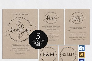 Wedding Invitation Template Wpc3