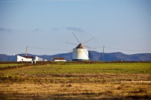 Old Windmill in Portugal