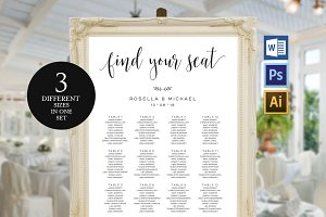 Wedding Seating Chart Template Wpc7