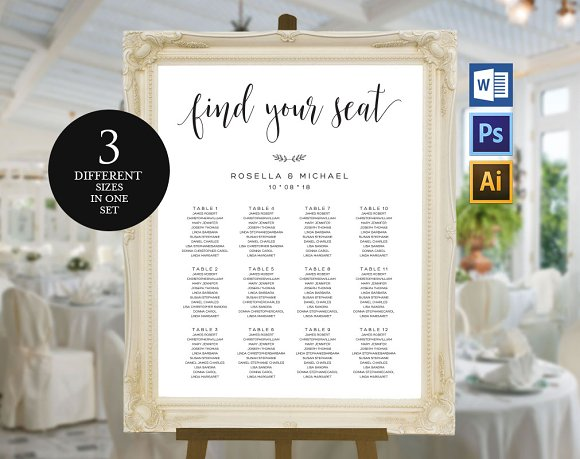Wedding Seating Chart Template Wpc7 Invitation Templates