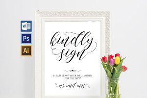 Guest Book Printable Wpc13