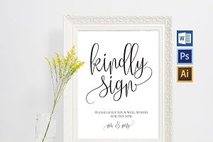 Guest Book Printable Wpc14
