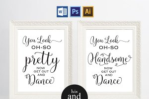 Wedding Bathroom Signs Wpc23