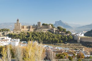 View of Antequera ancient city
