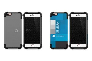 iPhone 6-6s 3d 2-in-1 Hybrid Case