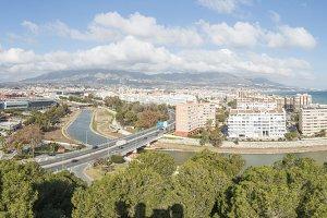 View of Fuengirola, Malaga