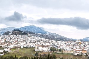 Panorama of Ardales, Malaga