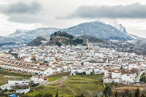 Ardales town in Malaga, Spain