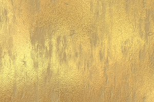Gold grunge painted  texture
