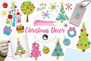 Christmas Décor illustration pack