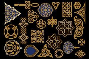 Arabic Design Elements