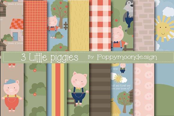 3 Little Piggies Paper