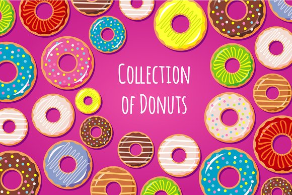 Collection Of Donuts