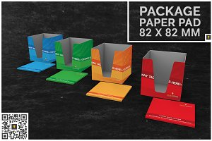 Paper Pad & Paper Notes Package