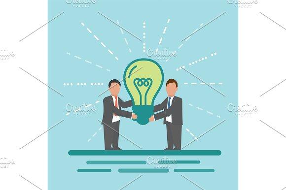 Idea Concept Business Illustration