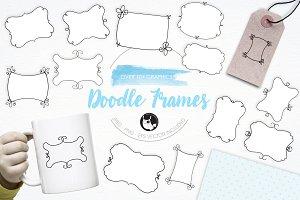 Doodle Frames illustration pack