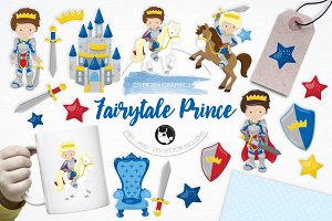 Fairytale Prince illustration pack