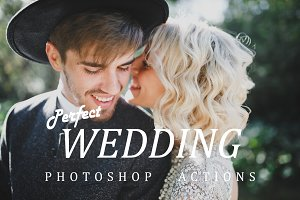 Photoshop wedding actions