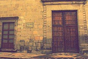 Wooden Door in Old City