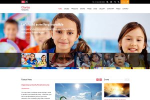 Charitas/Foundation WordPress Theme