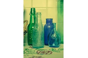 Antique Bottles - vertical