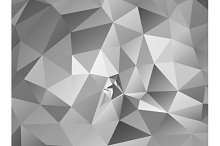 Triangle background. Gray polygons.