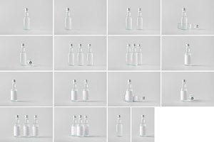 Spirits Bottle Mock-Up Photo Bundle