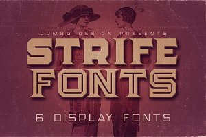 Strife - Display Font