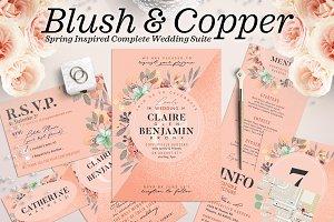 Wedding Suite IX - Blush Copper