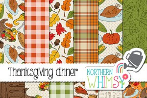 Thanksgiving Dinner Patterns