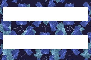 Stripes Floral Background Pattern