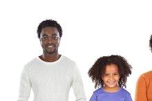 Afroamerican family