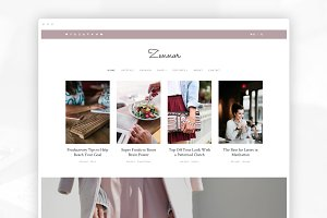 Zennor - Blog & Shop WordPress theme