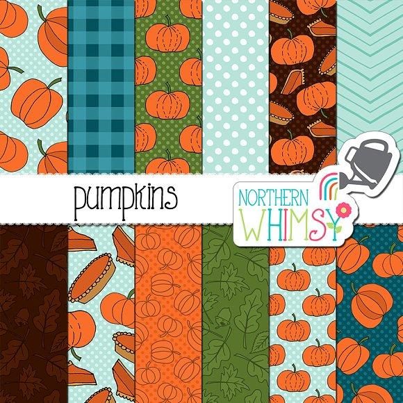 Fall Pumpkin Patterns