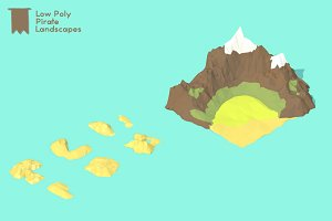 Low Poly Pirate Landscapes