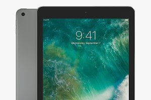 Apple iPad 9.7 3D Model