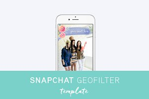 Snapchat Geofilter Template