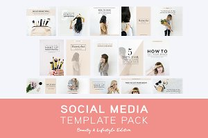 Social Media Pack: Beauty Edition