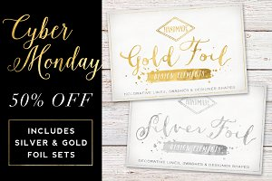 50% off Gold & Silver Foil Bundle
