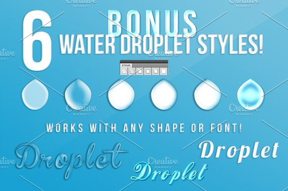 10 Splash Bundle in Objects - product preview 3