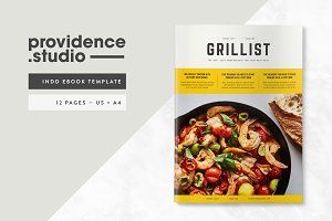 GRILLIST Recipe Ebook Template