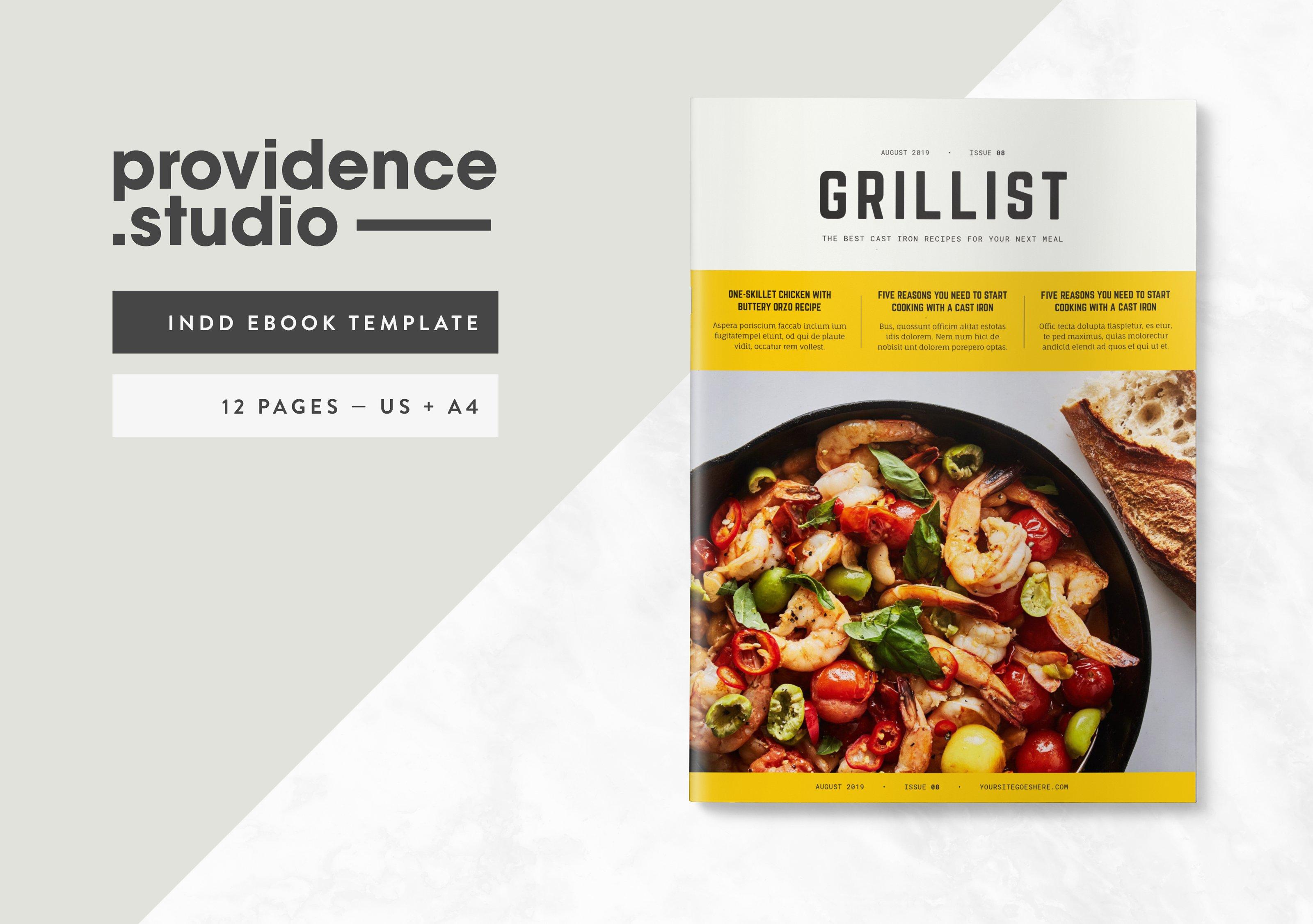 Cookbook template Photos, Graphics, Fonts, Themes, Templates ...