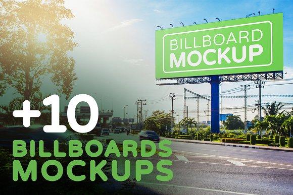 Billboards Mock-ups Vol.4