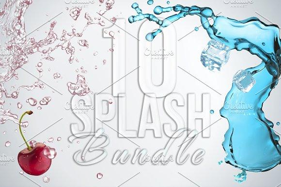 10 Splash Bundle in Objects