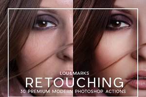 30 Pro Portrait Retouching Actions