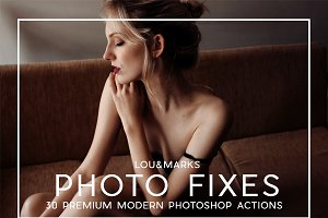 30 Pro Photo Fix PS Actions