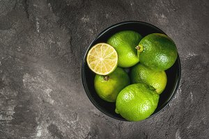 Fresh organic limes